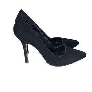 Aldo Black Suede Pumps Heels Size 6 Cassedy